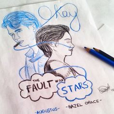 the fault in our stars drawing - Google Search