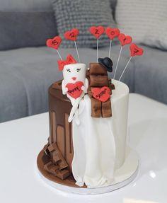 Wedding cake Milky und Schoki Hochzeitstorte