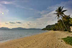 A secluded beach in Phuket near Panwa Bay. Not all of Phuket is overrun by tourists, believe it or not! Photo by Lindsay at AnAdventureAWeek.com - come say hi!