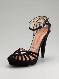 Sigerson Morrison  Ankle Wrap Sandal