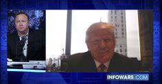 DONALD TRUMP TELLS ALL ON THE ALEX JONES SHOW Trump joins the Alex Jones Show for an exclusive interview