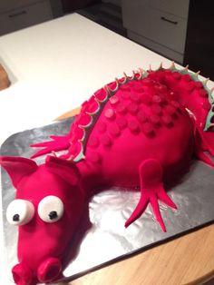 Welsh dragon birthday cake Dragon Birthday Cakes, Welsh Dragon, How To Make Cake, Desserts, Food, Deserts, Dessert, Meals, Yemek