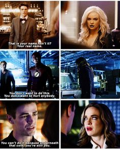 Barry getting through Killer Frost icy walls The Cw Shows, Dc Tv Shows, Supergirl Dc, Supergirl And Flash, Barry And Caitlin, The Flashpoint, Flash Funny, Dc Comics, Superhero Shows