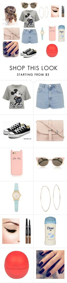 """""""Girls day"""" by lillilykitty ❤ liked on Polyvore featuring Paul & Joe Sister, Topshop, Converse, M.N.G, Kate Spade, Fendi, Michael Kors, River Island and Lottie"""