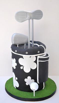 Golf Bag Cake | Flickr - Photo Sharing!