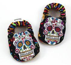 Buy Now dia de los muertos baby shoes day of the dead shoes...
