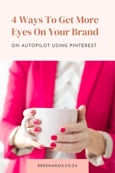 Trying to grow your business and need some help? Then you've hopped on just the right post. Growing a brand can be a lot at once, from emails, to posts, to design to videos, and and and. But there is a much simpler way to grow your brand on autopilot using my favourite tool by far - Pinterest. See how you can increase traffic to your site or business with these 4 tiny tweaks to your Pinterest page. Jump on the link and learn more. #pinterestmarketing #pinterestboards #pintrestpins #pins… Pin Trest, Link And Learn, Yummy Pasta Recipes, Growing Your Business, Pinterest Marketing, Simple Way, Diy Design, Things To Come, How To Get