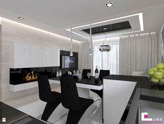 Jadalnia styl Nowoczesny - zdjęcie od CUBE Interior Design - Jadalnia - Styl Nowoczesny - CUBE Interior Design