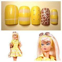 Palm Beach Honey Barbie Doll nail❤ by azusa - Nail Art Gallery