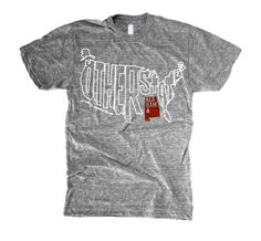 Alabama & The Other States, regional pride T-shirts from The Social Dept.