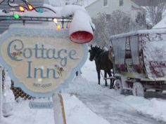 Christmas on Mackinac Island