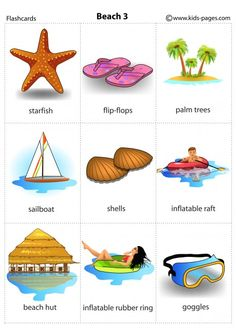 Summer 3 flashcard English Summer, English Fun, English Class, English Lessons, Learn English, English Vocabulary, English Grammar, Teaching English, English Language