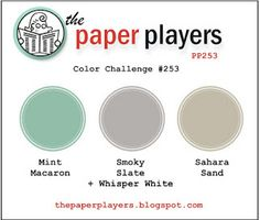 Stampin' Up! Australia: Kylie Bertucci Independent Demonstrator: Crazy About You - The Paper Players Colour Challenge