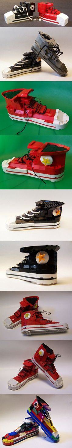 gem... for your trainer project LEGO Converse Cool