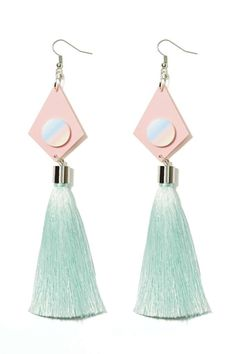 Suzywan Deluxe Asandra Tassel Earrings