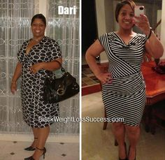 Dari has gone from a size 22 to a size 12 | Black Weight Loss Success