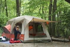 Best Family Tent - Columbia Cougar Flats II Family Cabin Dome Tent