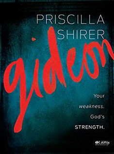 Gideon - Bible Study Book by Priscilla Shirer. Publication Date Publisher LifeWay Christian Resources Gideon Bible, Good Books, Books To Read, Priscilla Shirer, Gods Strength, Strength Bible, Stark Sein, Christian Resources, Thing 1