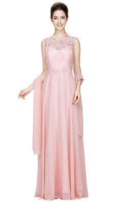 fe98940ff51 Pink Peach Sizes 8-24 Women s Evening Dresses