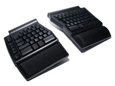 Matias Ergo Pro Is An Ergonomic Mechanical Keyboard http://www.ubergizmo.com/2014/01/matias-ergo-pro-is-an-ergonomic-mechanical-keyboard/