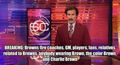 Tagged with Funny; After going the Cleveland Browns clear house Browns Memes, Browns Fans, Funny Jokes, Hilarious, Cleveland Browns, Viral Videos, Charlie Brown, Trending Memes, Make Me Smile