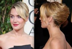 french twist with side fringe - Google Search