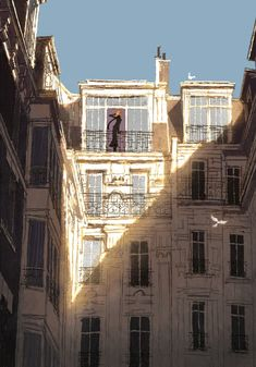 Discover the finest artists from animation, games, illustration and comics. Art And Illustration, Illustrations, People Illustration, Environment Concept, Environment Design, Bg Design, Interior Design, My Little Paris, Ligne Claire