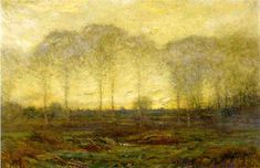 Dawn May 1910 painting