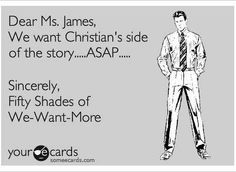 Christian Grey's point of view ~ Fifty Shades