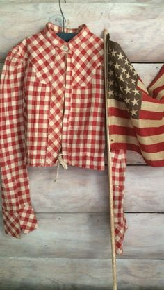 Early Primitive Americana Childrens Red Check Blouse Shirt. Heavier Thicker Fabric. A great early textile made well. In good early condition. No holes found, some slight spotting on sleeve ( refer to pic for your consideration). | eBay!