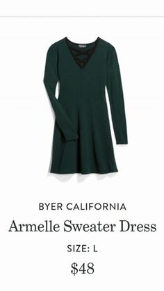 0a4570be63 Love the chest detail Green Sweater Dress, Long Torso, Stitch Fit, Winter  Skirt