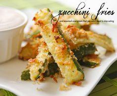 Pip & Ebby - Pip-Ebby - Zucchini fries and seasoned sourcream