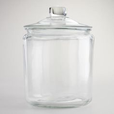 One of my favorite discoveries at WorldMarket.com: One-Gallon Glass Storage Jar