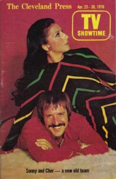 Sonny and Cher on the cover of TV Showtime, Isaiah 42, I Got You Babe, Cher Bono, Magazine Articles, Tv Guide, Mariah Carey, Old Hollywood, Music Artists, Childhood Memories