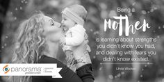 """We love this motherhood quote: """"Being a mother is learning about strengths you didn't know you had, and dealing with fears you didn't know existed."""" –Linda Wooten. After all, what mother-to-be doesn't worry about whether their baby is healthy? Panorama is a non-invasive DNA screening test that can tell you if your baby is at increased risk of having Down syndrome or other specific chromosomal abnormalities."""
