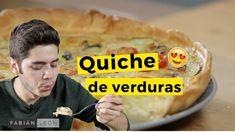 Quiche de Verduras // La receta que los conquistará a todos Quiches, Pasta Brisa, Empanadas, Meal Prep, Breakfast Recipes, Diet, Meals, Cooking, Youtube