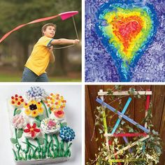 Spring Break Boredom Busters - A Week's Worth of Activities to Keep Kids Occupied