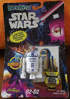 STAR WARS GALAXY 1993 TOPPS KENNER JUST TOYS BEND-EM PROMO CARD A DARTH VADER