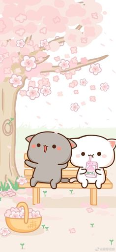 Ideas Kawaii Wall Paper Pastel Cats For 2020 Cute Panda Wallpaper, Cute Pastel Wallpaper, Cute Patterns Wallpaper, Cute Disney Wallpaper, Cute Anime Wallpaper, Wallpaper Iphone Cute, Cute Cartoon Wallpapers, Cute Kawaii Backgrounds, Kawaii Drawings