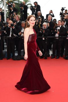 The best of the 2015 Cannes Film Festival red carpet: Julianne Moore in Givenchy.