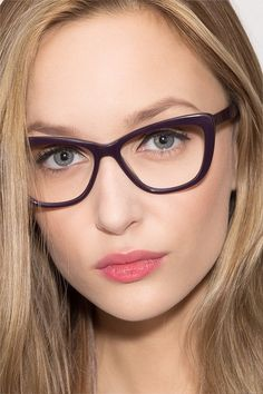9e9104d6a791 Charlotte Purple Acetate Eyeglasses from EyeBuyDirect. Discover exceptional  style, quality, and price.