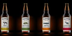 CleverMan Irish Ales — The Dieline - Package Design Resource