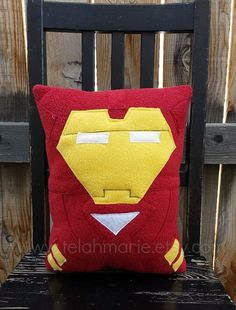 Made from super soft fleece and perfect for snuggling    You can choose Iron man with helmet or without just use the drop down menu to the top right