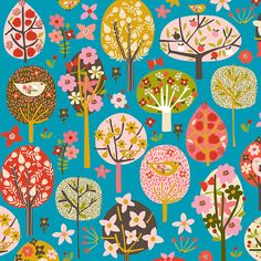 Lilla Rogers » Tree pattern «  Carolyn Gavin