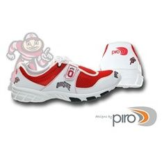 Ohio State University Buckeyes Lightweight Tennis Shoes WANT! North Carolina State Wolfpack, South Carolina Gamecocks, Carolina Football, Ohio State University, Ohio State Buckeyes, Sports Shoes, New Shoes, Air Max Sneakers, Running Shoes