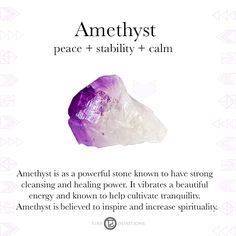Amethyst | Gemstones & Sacred Materials | Tiny Devotions | Mala Beads
