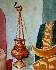 Zurückweisung des Opfers Joachims Kunstwerk: Temperamalerei-Holz ; Einrichtung sakral ; Flügelaltar ; Süddeutsch ; Maria1:06:001-007  Dokumentation: 1490 ; 1500 ; St. Lambrecht ; Österreich ; Steiermark ; Peterskirche  Anmerkungen: 122x62,5