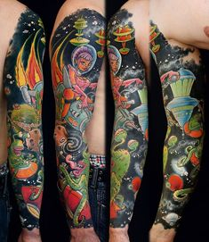 awesome Tattoo Trends - 55 of the craziest and most amazing tattoo designs for men and women
