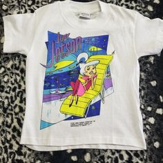 f9b1c524 Dm with any questions This is a vintage 90s Judy Jetson t shirt, single  stitch. Depop