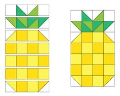Over a year ago, we made a mini pineapple quilt based on a pillow we saw on…